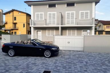 Villa con giardino stile Bella Epoque Nuova costruzione 4